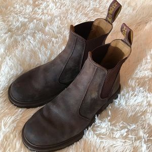 Dr. Martens brown Chelsea boots